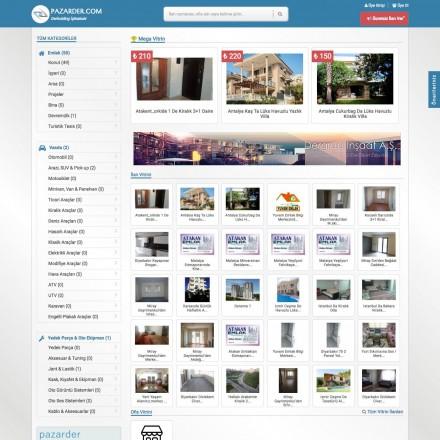 Pazarder.com Bireysel ve Kurumsal İlan Sitesi