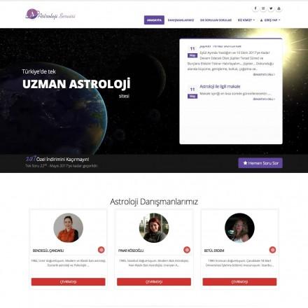 Astroloji Servisi Danışmanlık Projesi