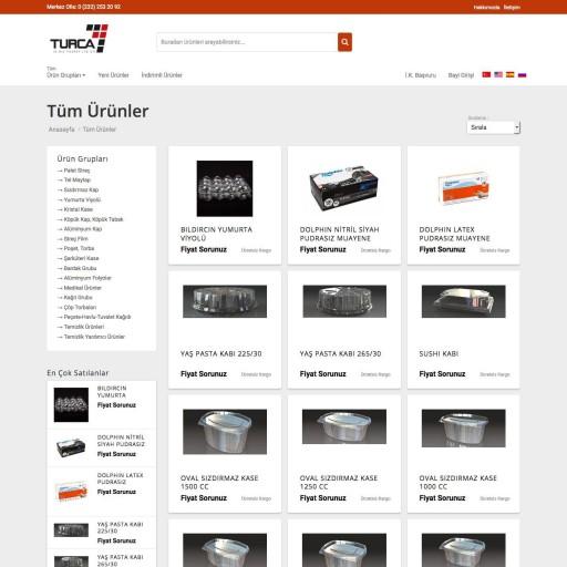 Turca Ambalaj Ltd. Şti. E-Ticaret Projesi
