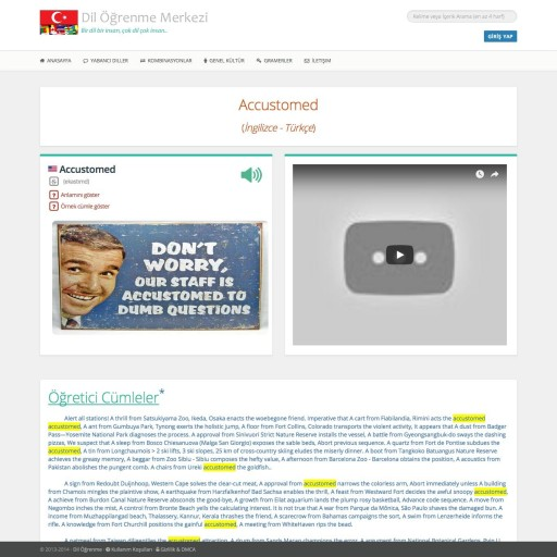 Online Dil Eğitimi Projesi