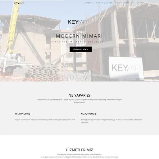 KeyYapı A.Ş. Kurumsal Web Sitesi