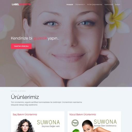 Label Kozmetik E-Ticaret Web Sitesi