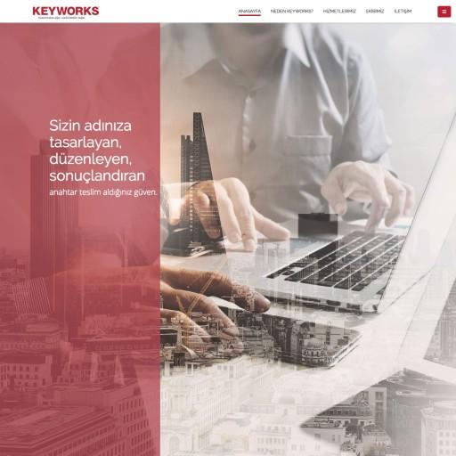 KeyWorks Kurumsal Websitesi