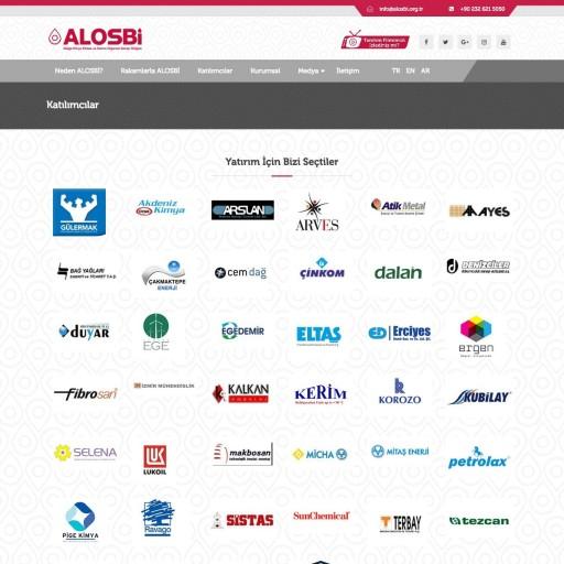 Aliağa Organize Sanayi Kurumsal Web Sitesi