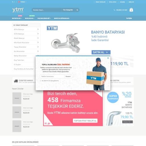 YTM E-Ticaret Portalı