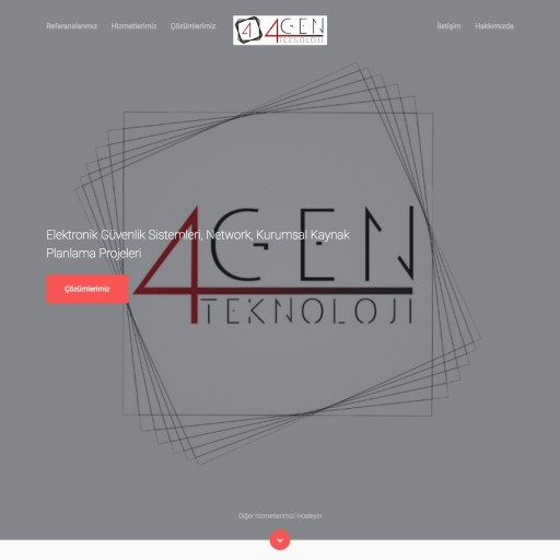 4GEN Teknoloji Kurumsal Websitesi