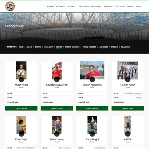 Ege Veteranlar Federasyon Websitesi
