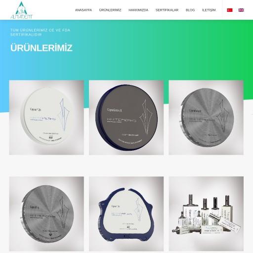 Alma-Dent Kurumsal Websitesi
