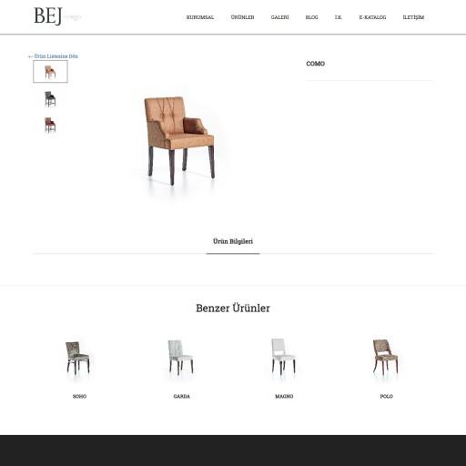 Bej Mobilya Kurumsal Websitesi